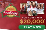 Hallmark Channel Countdown to Christmas Fantasy Game Sweepstakes 2020