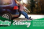 O'reilly Fall Road Trip Getaway Sweepstakes 2020