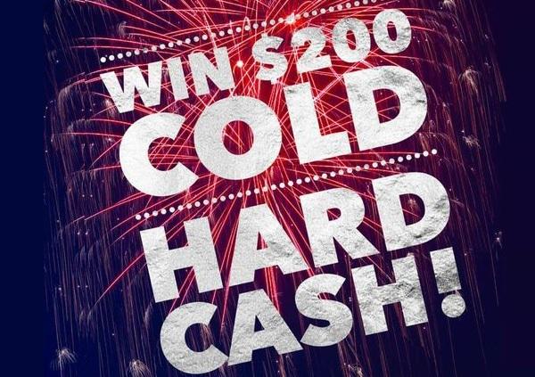 Endurance $200 Cash Giveaway