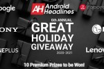 Android Headlines Great Android Holiday Giveaway 2020