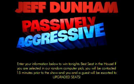 Jeff Dunham Contest