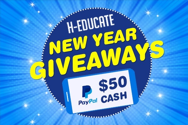 H-educate New Year Giveaway