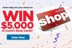 Costco Shop Cards Contest