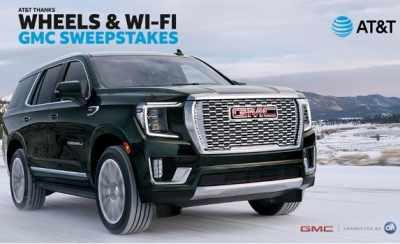 Wheels & Wi-Fi GMC Sweepstakes