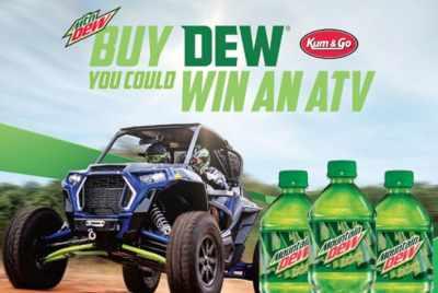 Pepsi Dew Outdoor Sweepstakes