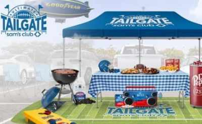 Sam's Club Ultimate Tailgate Sweepstakes
