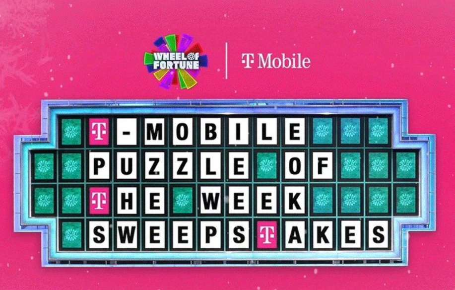 T-Mobile Puzzle Of The Week Sweepstakes