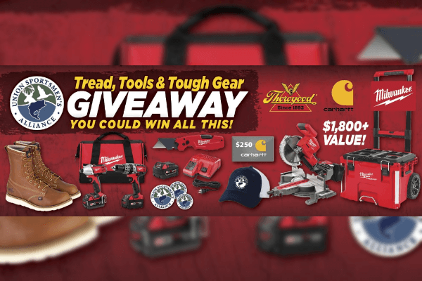 Tread, Tools, and Tough Gear Giveaway