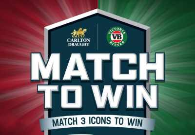 Carlton Draught Match to Win Competition