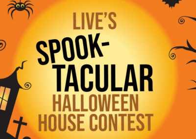 Live Kelly & Ryan Spook-tacular Halloween House Contest