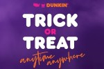 Dunkin' Halloween Sweepstakes & Instant Win Game