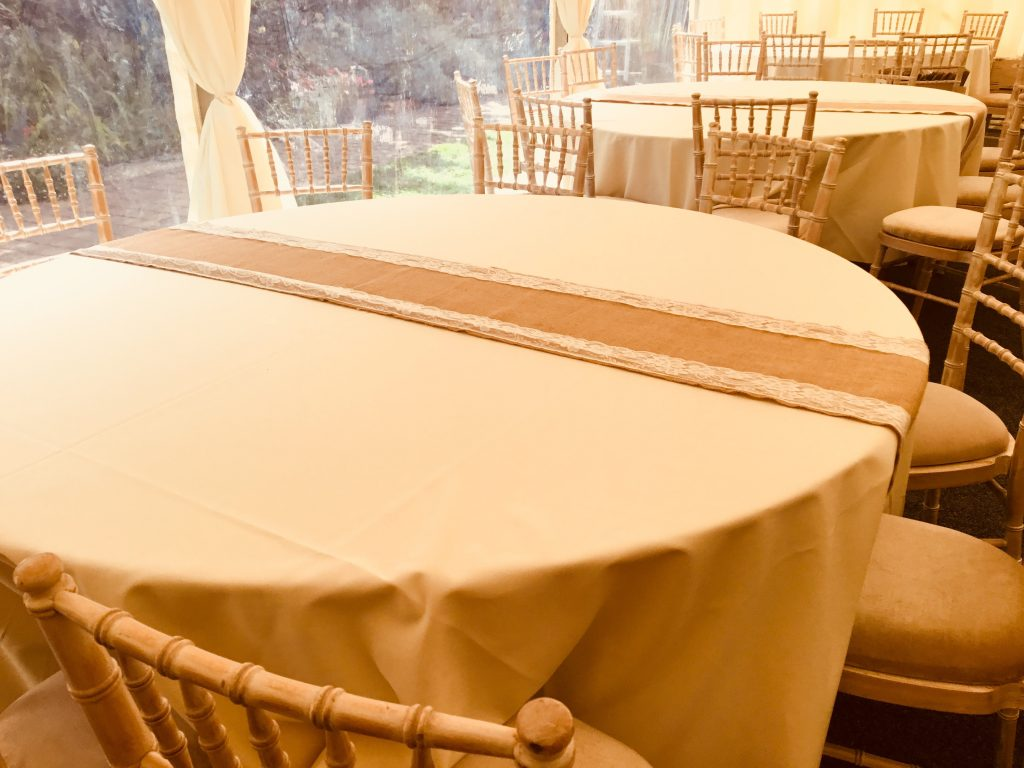 chair cover and sash hire essex bulk covers for sale hessian lace table runners 43