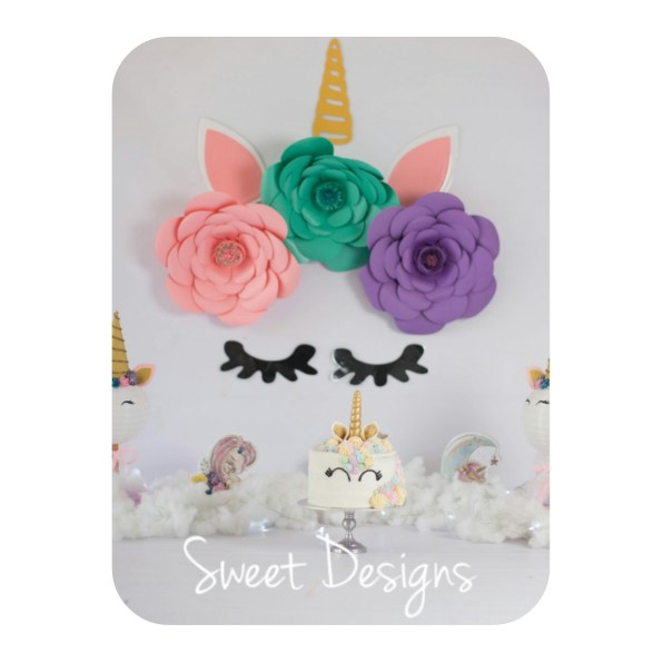 Unicorn Birthday Cake for Cake Smach Photoshoot