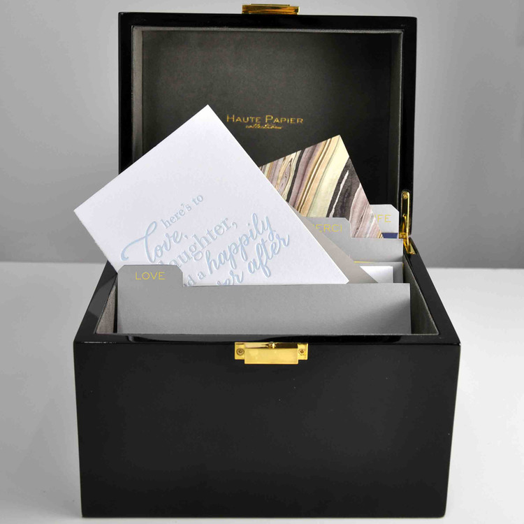 A Must Have! The Write Box A Lacquer Stationery Organizer