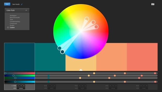 Adobe Color: fine tune