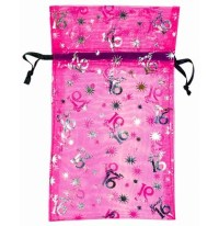 Pink Sweet 16 Gift Bags | Sweet 16 Party Favors