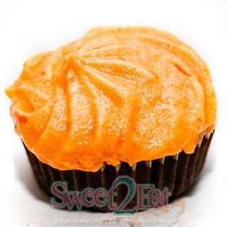 Chocolate Orange Cupcakes with Orange Buttercream Icing