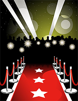 Red carpet blogger awards