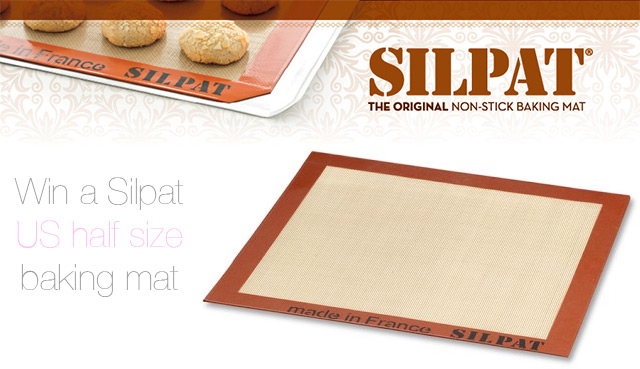 Win a Silpat US size baking mat