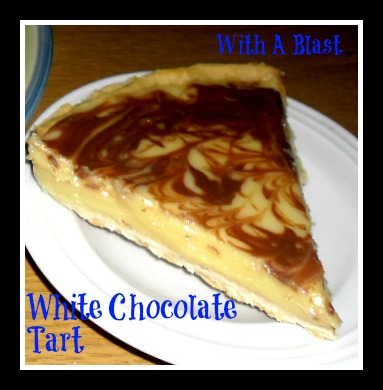 White Chocolate Tart by With A Blast