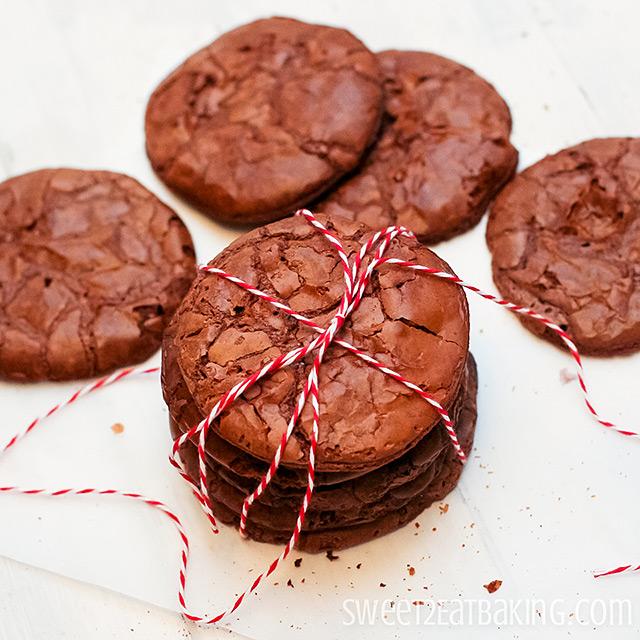 Brownie Cookies Recipe by Sweet2EatBaking.com
