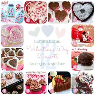 12 Inspirational Valentine's Day Desserts