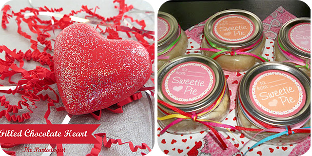 Candy Filled Hearts | Sweetie Pies