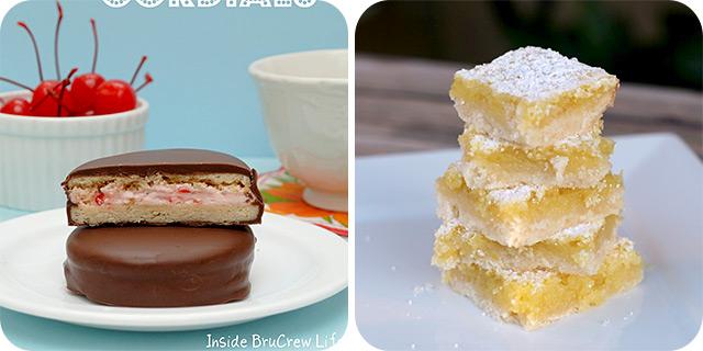 Homemade Little Debbie Cherry Cordials | Oh so lemon Bars