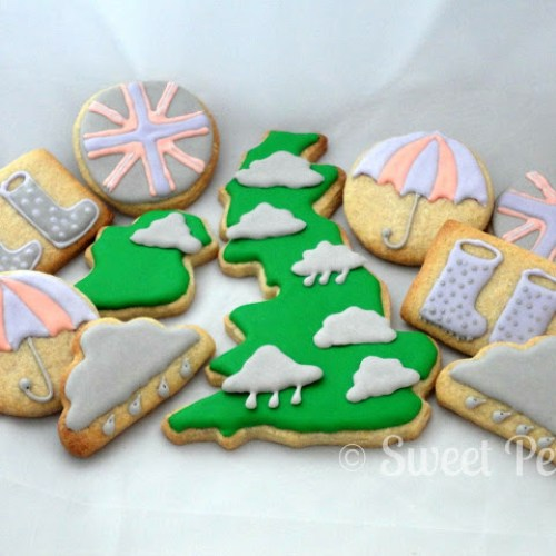 British Weather Cookies