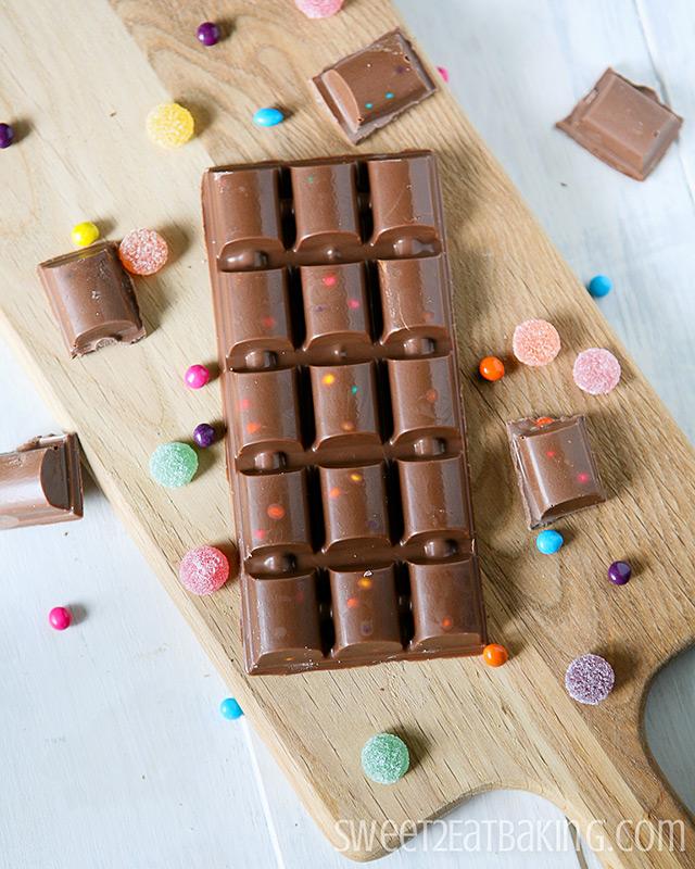 Copycat Cadbury Marvellous Creations Chocolate Bar by Sweet2EatBaking.com