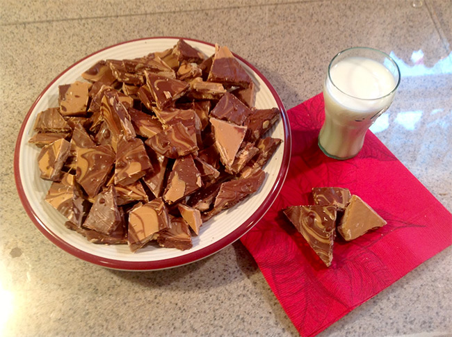 Hersheys Chocolate Peanut Butter Bark