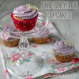 Earl Grey Tea Cupcakes