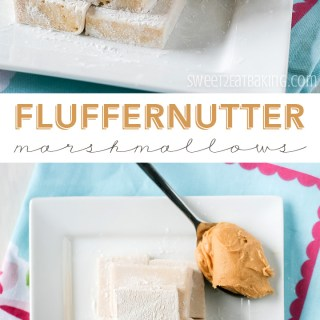 Fluffernutter Marshmallows (Dairy Free)