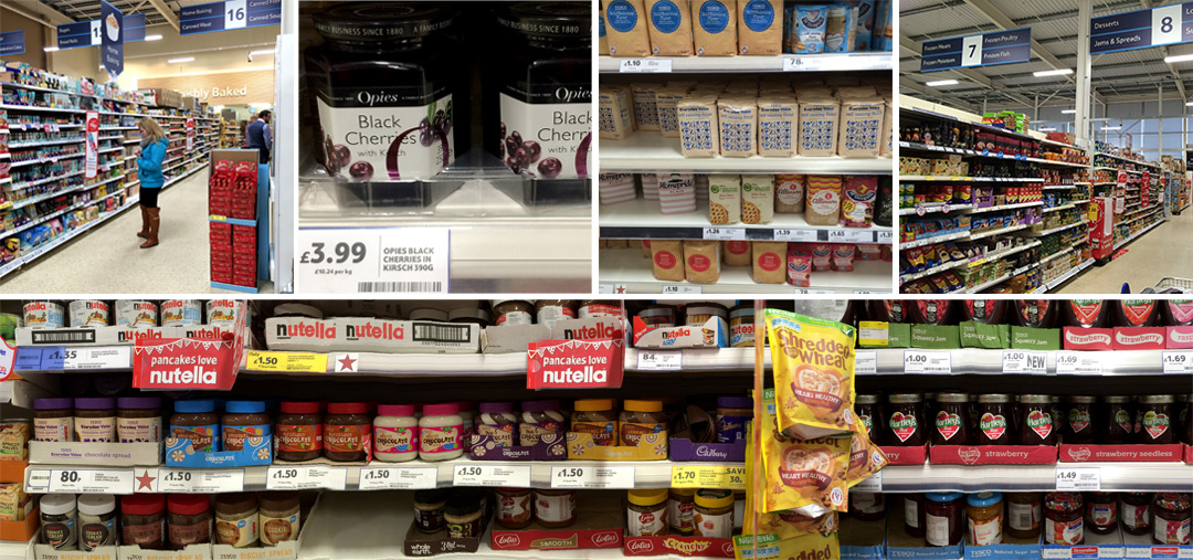 Crepe and Pancake Ingredients at Tesco