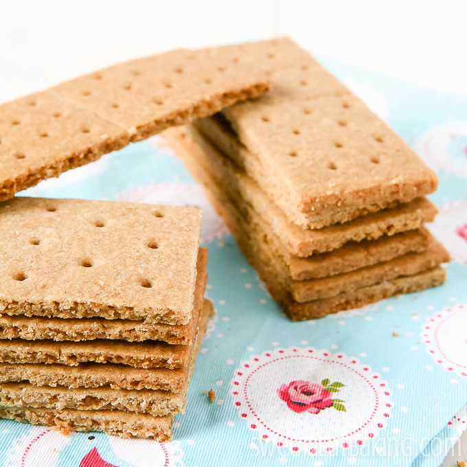 Copycat Graham Crackers by Sweet2EatBaking.com