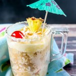 Pina Colada Mug Cake Recipe by Sweet2EatBaking.com