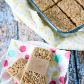 Tropical Granola Bars by Sweet2EatBaking.com
