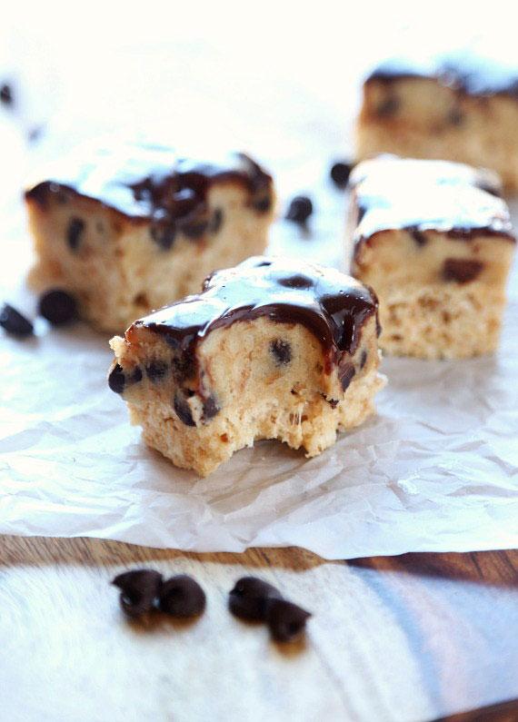 Cookie Dough Krispie Treats Recipe