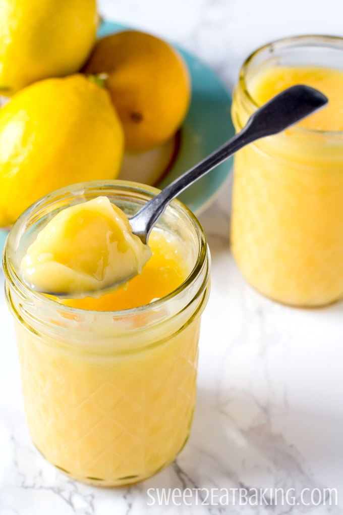 Microwave Lemon Curd Recipe by Sweet2EatBaking.com
