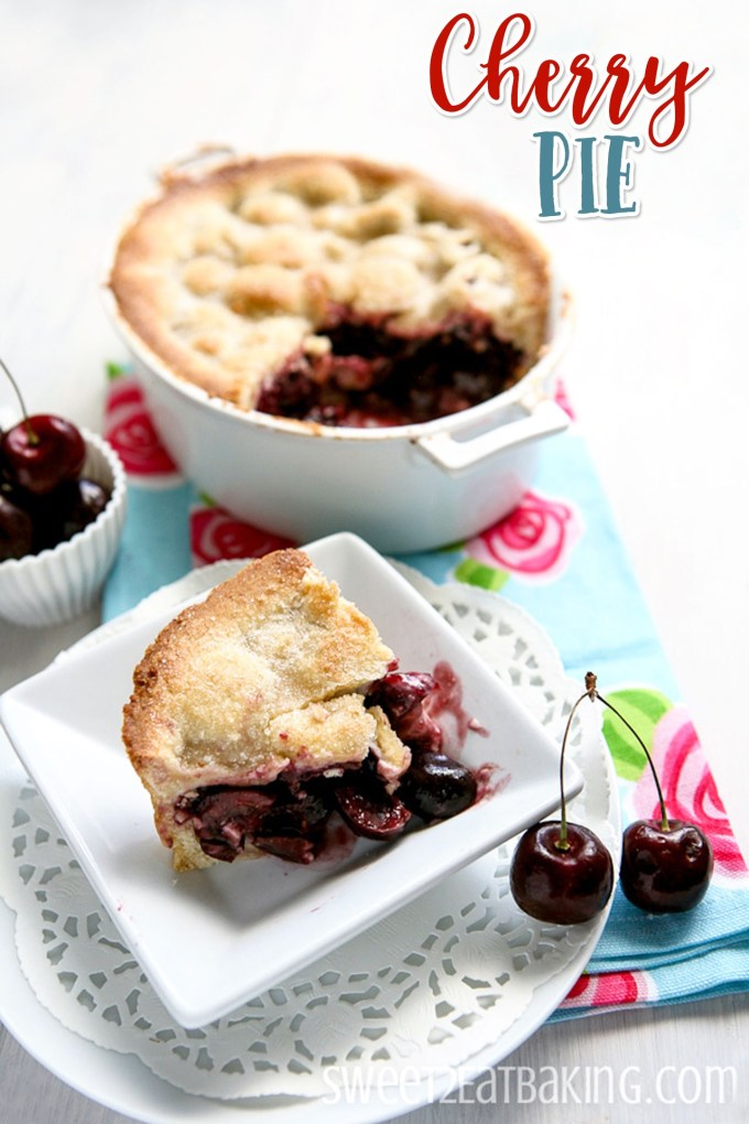 Cherry Pie Recipe by Sweet2EatBaking.com