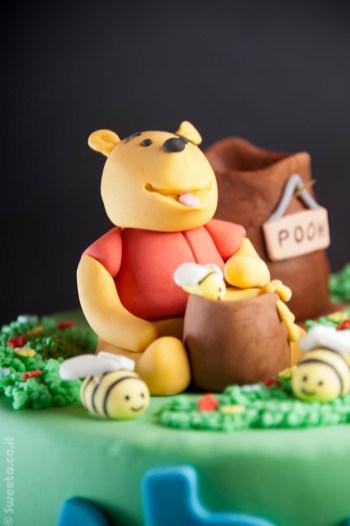 עוגת פו הדב וטיגר