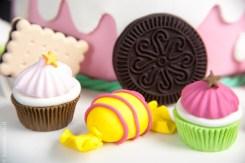 עוגת ממצקים מבצק סוכר