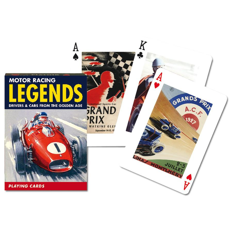 Motor Racing Legend Playing Cards