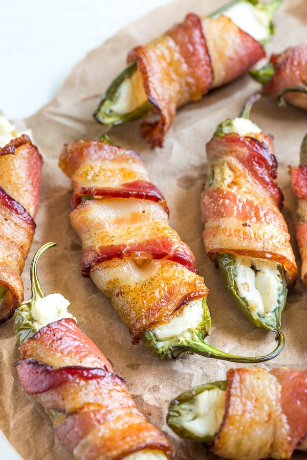 3 Ingredient Jalapeno Poppers Video Sweet Amp Savory By