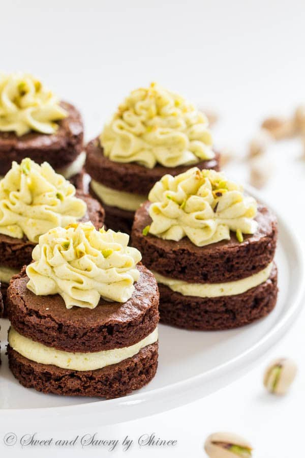 Mini Chocolate Layer Cakes Sweet Savory By Shinee