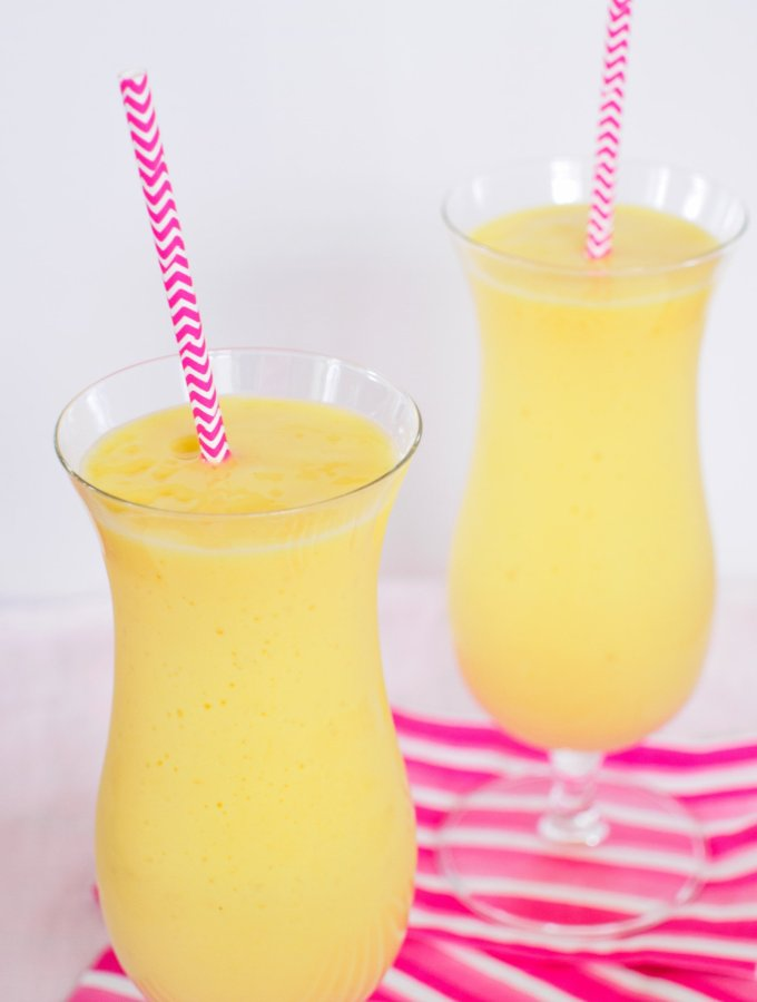 Pineapple, Mango and Orange Smoothie