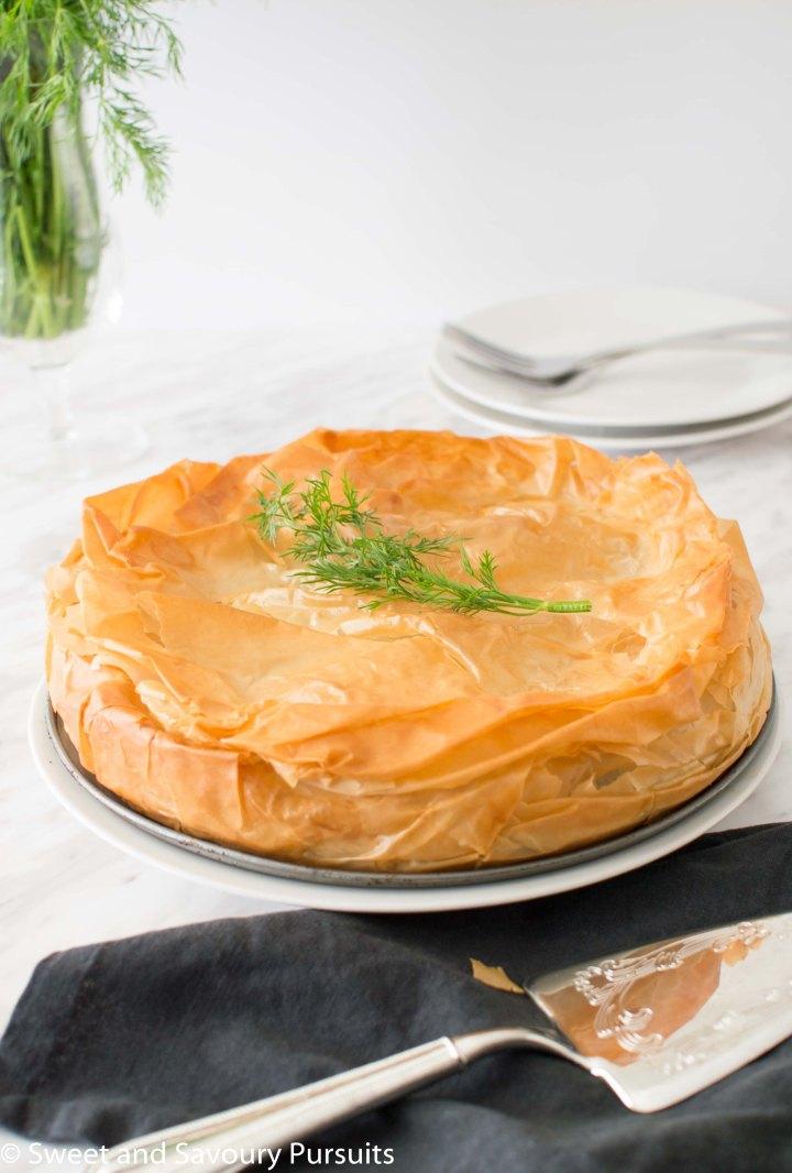Easy Spanakopita Pie