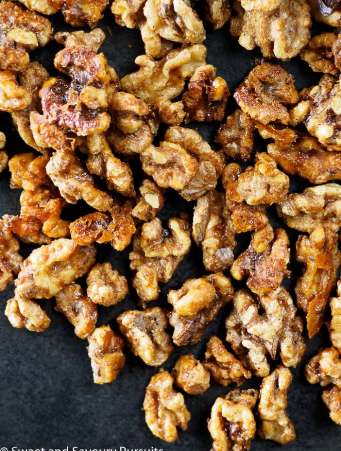 Maple Spiced Walnuts