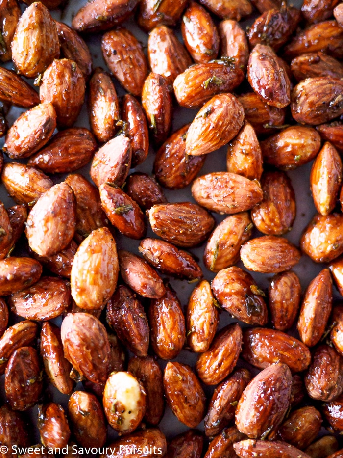Rosemary Spiced Roasted Almonds