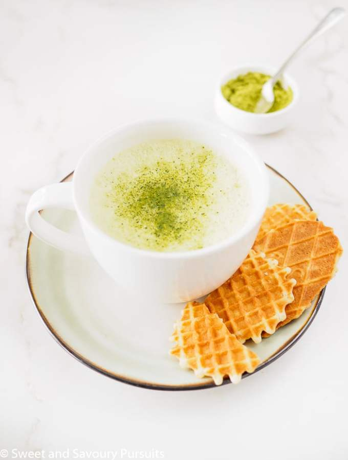 Matcha Green Tea Latte